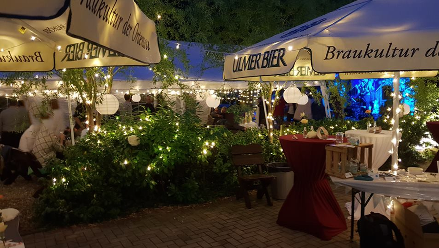 Event Biergarten - Hochzeitsfeier Gaggenau - Pizzaria Winkler Hofstüble