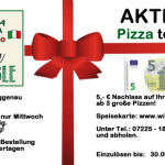 Aktion: Pizza to Go - Winkler Hofstüble Mittwoch und Donnerstag