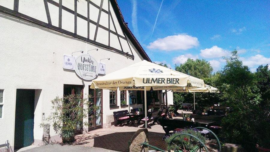 Biergarten Winkler Hofstüble Gaggenau